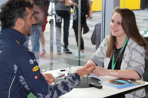Rencontre avec Daniel Ricciardo
