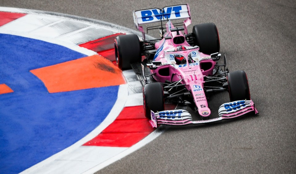 Sergio-Pérez-Grand-Prix-Russie-Sotchi 2020-Twitter-Racing-Point