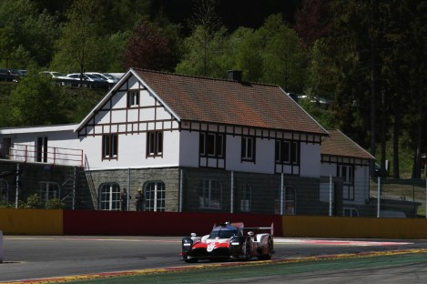 TOYOTA GAZOO Racing. World Endurance Championship 6 Hours of Spa. 2nd to 5th May 2018 Spa Francorchamps, Belgium.