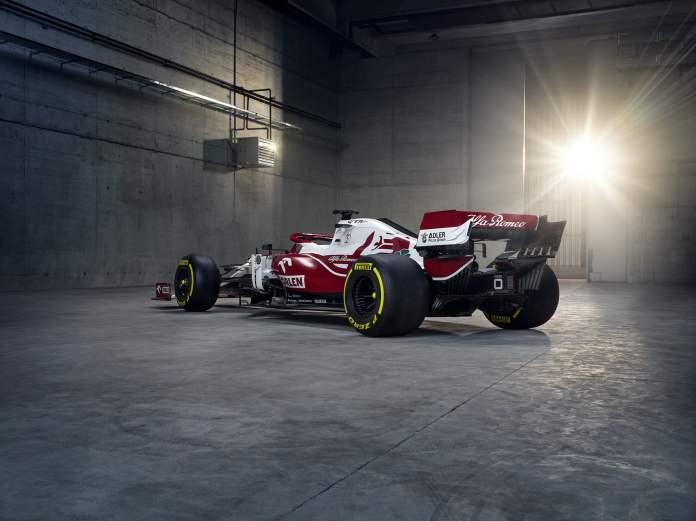 ARRO 2021 C41 3.4 Rear Left Prezentacje bolidów na sezon 2021