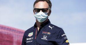 Horner points finger back at Mercedes in wing row