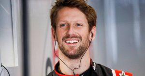 Grosjean's farewell Mercedes test dream comes true