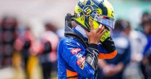 Lando's confidence improving in 'tricky' McLaren