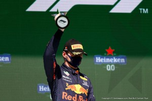 Max Verstappen second in Portuguese Grand Prix: 'I did everything I could'
