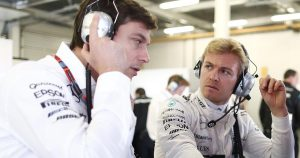 Rosberg finds Mercedes driver chassis swap 'weird'