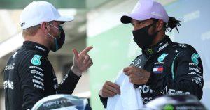 Hamilton wants 'best team-mate' Bottas to be left alone