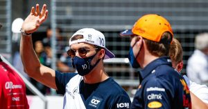 Rival teams showing an interest in Gasly