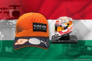 Contest Hungarian GP: win a signed Orange Driver Cap or 1:4 scale model helmet!