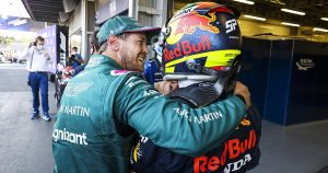 Vettel: 'Happy with all my heart to see Perez at RB'