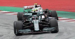 Schumacher had his own Vettel tutorial at Silverstone
