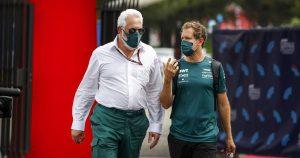 Vettel hails Stroll as Aston Martin's saviour