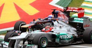 Ricciardo recalls duel with 'god of this sport'