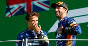 Ricciardo resurgence is 'good' for Norris