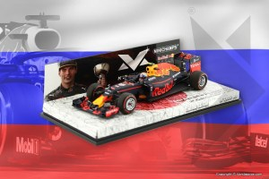 Contest Russian GP: win a 1:43 scale model Max Verstappen RB12 Japan!