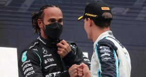 Russell knows he won't have it 'easy' against Hamilton