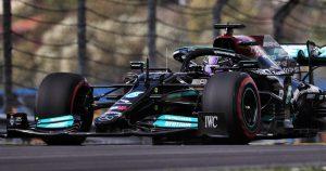 FP1: Hamilton quickest, but faces 10-place grid penalty