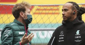 Hamilton 'proud' of Vettel for environmental activism