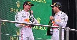 Perez labels Max 'driver of the season so far'