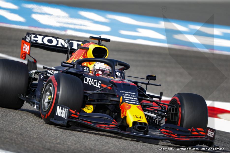 Verstappen wederom het snelst na afsluitende vrije training in Bahrein