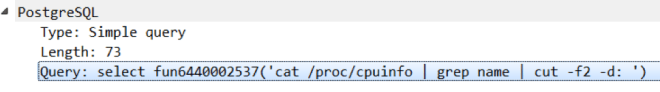 Figure 4: Checking the CPU details