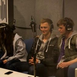 Radiosending. Foto: Winnefride Gwalla