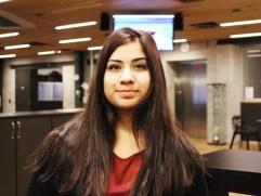 F21-eleven Shema Haroon (17) er fornøyd med dagens arrangement