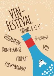 Simon Bonafede Luciano: vinfestivalplakat