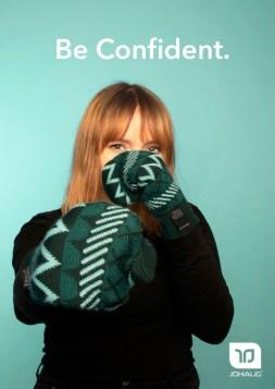 Samira Chami Be Confident - Johaug Reklame - A4