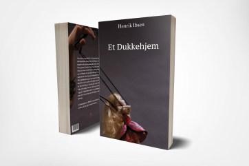 Selin Dilmac - Et Dukkehjem bokcover mockup