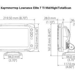 Lowrance Hds 5 Wiring Diagram Micro Usb 5x 7 Side Imaging