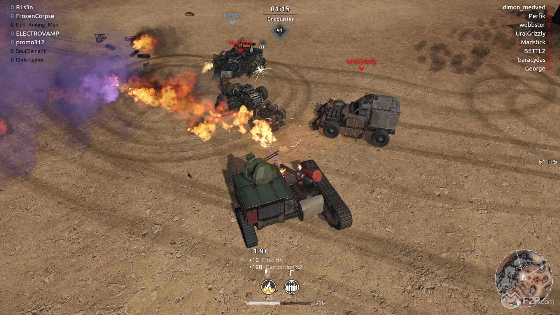 Crossout Buggy