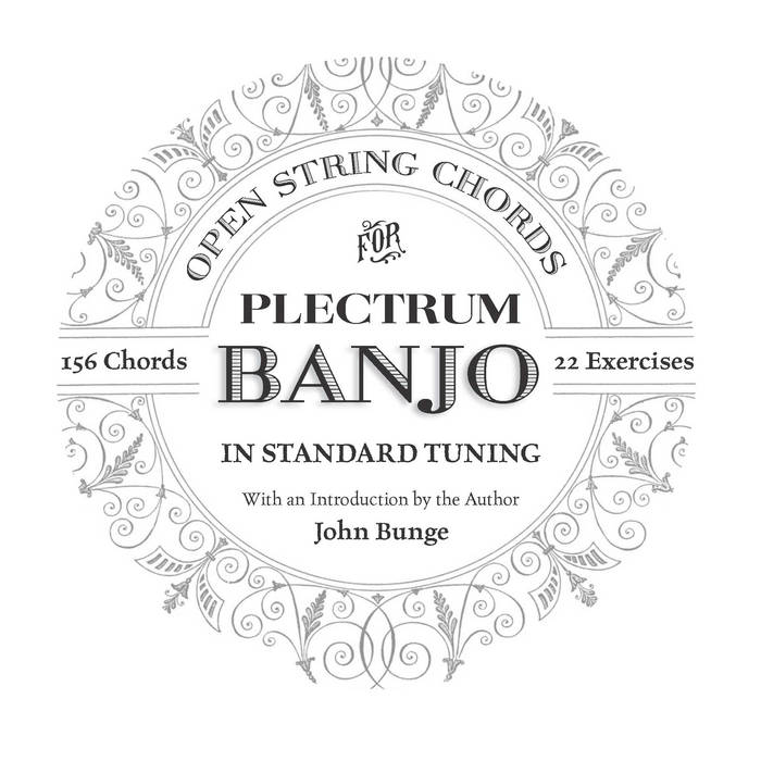 Open String Chords for Plectrum Banjo In Standard Tuning