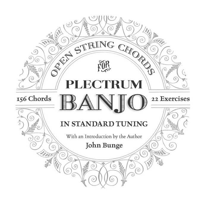Open String Chords for Plectrum Banjo In Standard Tuning