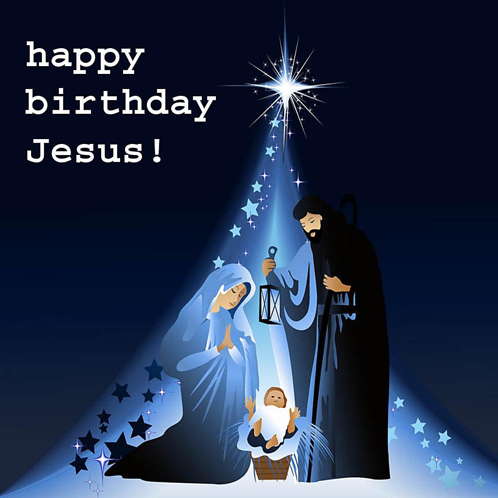 happy birthday jesus merry