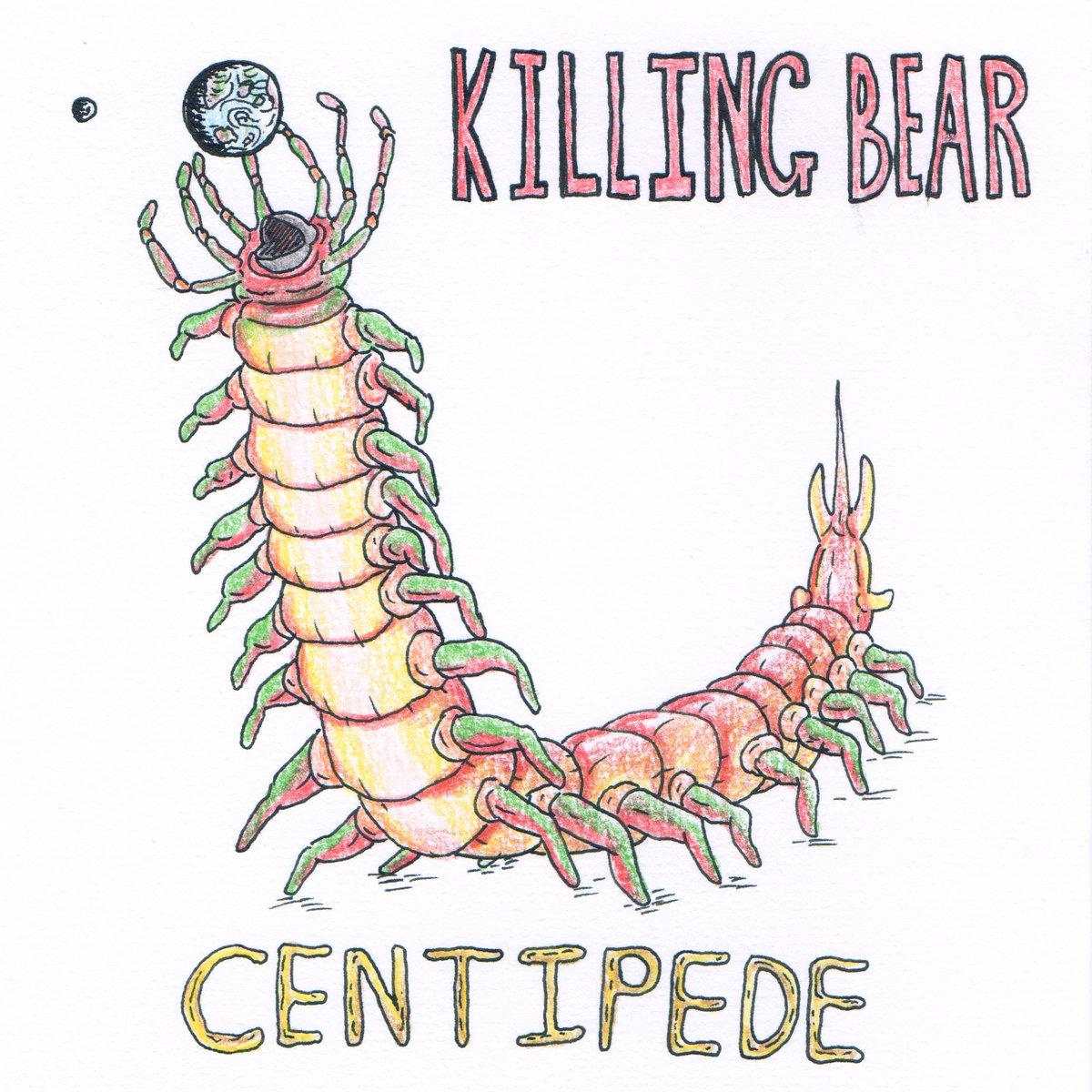 hight resolution of centipede by killing bear