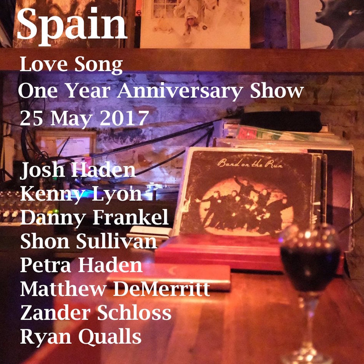 spain love song one