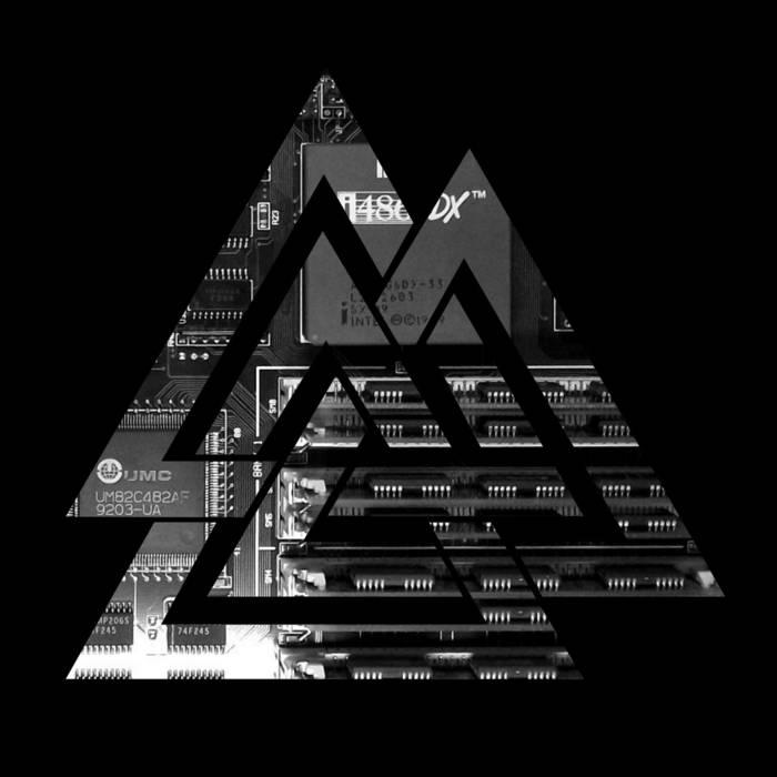 Cover of the cyberpunk music album C:\ data-recalc-dims=