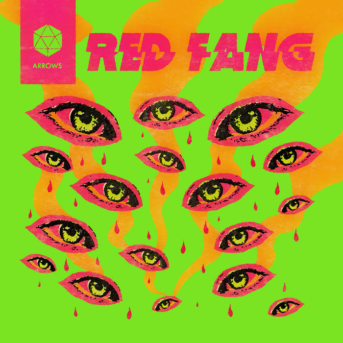 """Red Fang """"Arrows"""" Album Cover"""
