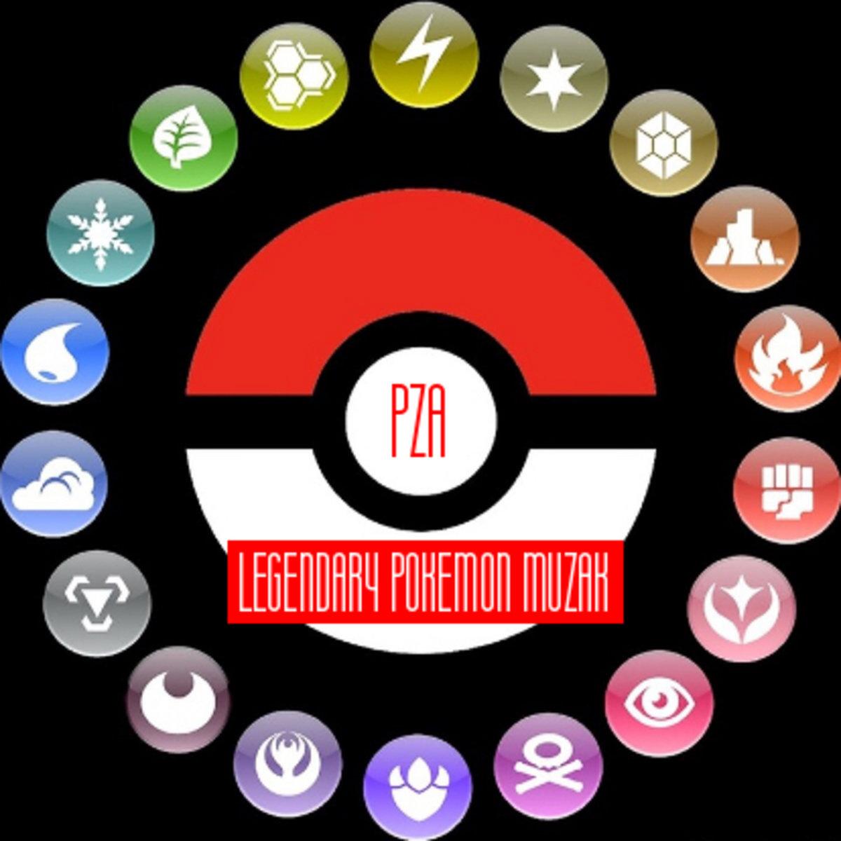legendary pokemon muzak pza