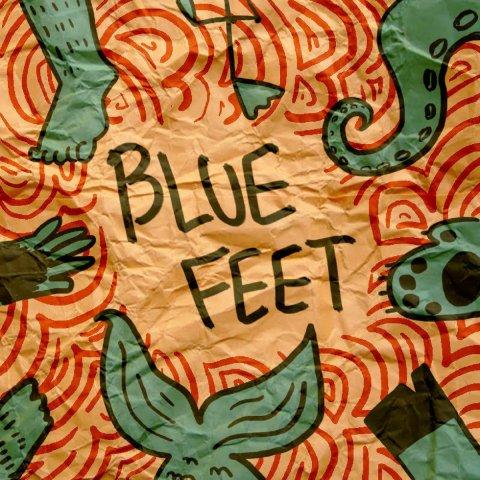 BLUE FEET – BLUE FEET