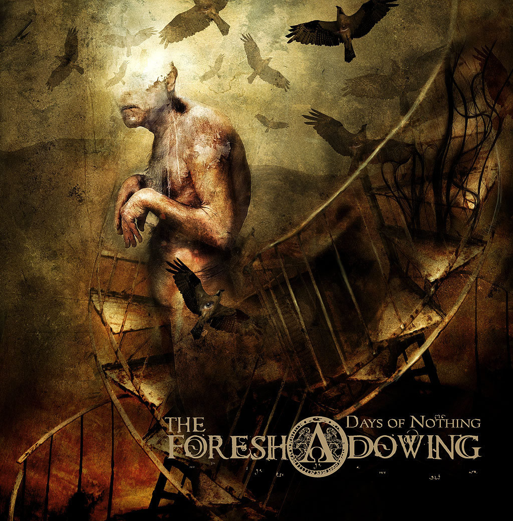 hight resolution of Days Of Nothing   The Foreshadowing   Candlelight Records UK