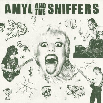 Resultado de imagen de Amyl and the Sniffers - Amyl and the Sniffers