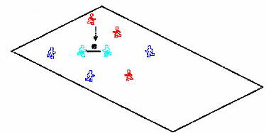 Moving goal game