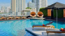 5 Star Hotel Sukhumvit Outdoor Pool Westin Grande