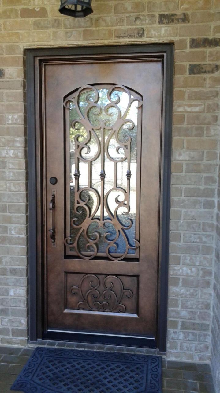 Wrought Iron Gate Designs