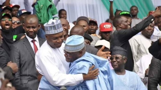 Image result for Saraki named DG of Atiku presidential campaign council