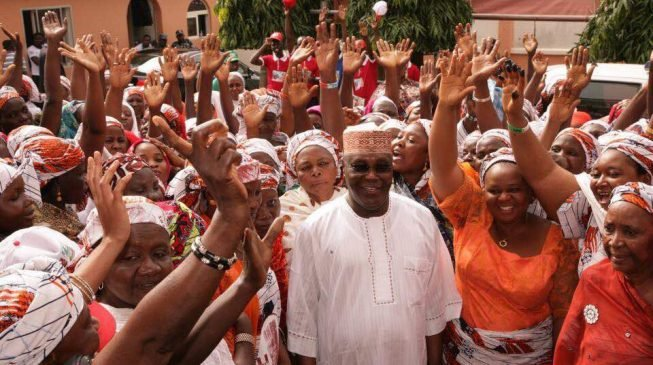 Image result for Atiku: My policy document is ready… 40% of my cabinet will be women, youths