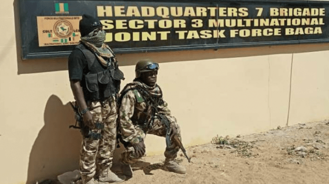 Image result for We've chased Boko Haram out of Baga, says army
