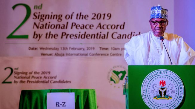 Image result for Buhari: Elections are important only if they make the country safe