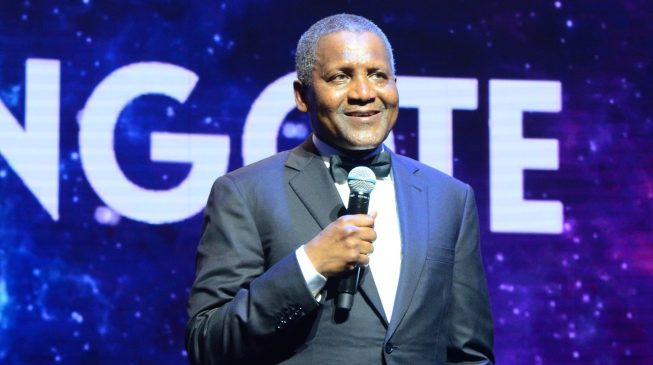 Image result for I withdrew $10m just to look at it, says Dangote